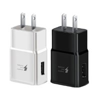 Fast Wall Charger 5V 2A 9V 1. 67A Quick Charge US Eu Power Ad...