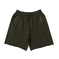 Season 6 Calabasas Terry Zip Pocket Shorts Mens Designer Pan...