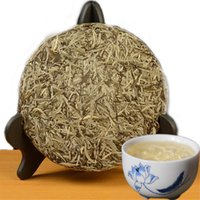 300g Eski Fuding Beyaz Çay Kek Organik Çin Gümüş İğne Yeşil Çay Çinli Sağlıklı Yeşil Gıda Eski Ağaçları Ham Beyaz Çay Promosyon