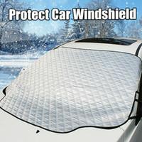 145*95 см универсальный коврик для лобового стекла автомобиля снежный покров подходит для большинства автомобилей окно зеркало протектор