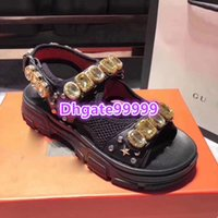high end women girl sneaker sandal leather mesh sandal with ...