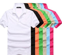 Hot Sale 2019 New Polo Shirt Men High Quality Crocodile Embr...