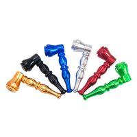 Dernier Portable Prettable Mini Demovible Mini Handpipe Innovative Design Smoking Tube Tube Tube Type de tabac Haute Qualité Haute Qualité Gâteau Hot Dhl Gratuit