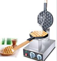 220V / 110V HongKong Yumurta Waffle Makinaları Makine Yumurta poğaçalar makinesi Kabarcık Waffle Yüksek Kalite DIY Pişirme Mutfak Aletleri LLFA