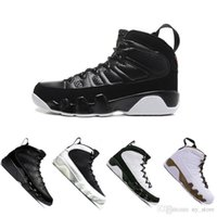 Newest 9 9s men basketball shoes sports 2010 RELEASE Bred La...