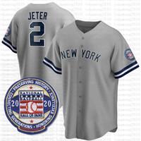 26 DJ Lemahieu 2020 Saison Jersey Baseball Jersey Aaron Juge 2 Derek Jeter Gerrit Cole Gleyber Torres Don Mattingly Gary Sanchez Mariano Rivera