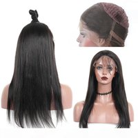 Brazilian 360 Lace Frontal Human Hair Wigs With Baby Hair St...