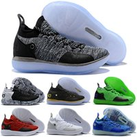10cddade25fa KD 11 Gold Splatter KD Paranoid EYBL Twilight Pulse Cool Grey Mens Kids  Basketball Shoes Zoom Kevin Durant 11 Sport Shoes Sneakers