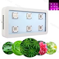 X6 1800W COB Full Spectrum LED Grow Light Led luces de cultivo Invernadero Veg y Bloom Grows Hydroponic Systems 110V 220V DHL
