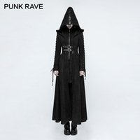 PUNK RAVE Gothic Winter Fitted Dark Raven Angel Full Length ...