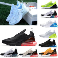 Nike air max 270 airmax 270 Neuheiten designerShoes For Men Schwarz Triple White Cushion Herren Sneakers Fashion Athletics Trainer Freizeitschuhe Größe 36-45