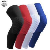 Yuerlian 1 Paar Honeycomb Basketball Elbow Pad Scotch Volleyball Gel Brace Rollschuhe Schutz-Bänder Sport Sicherheit Knieschützer