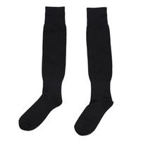 Мужская Спорт Футбол Хоккей Футбол Носки Длинные высокого Носок (черный)