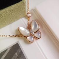 Fashion-primavera e l'estate 2020 i nuovi prodotti lanciati serie cielo farfalla collana di conchiglia d'oro ornamenti femminili regali di Natale