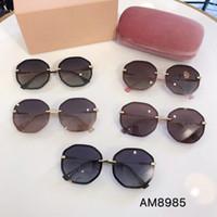 5868aa636 miu miu Óculos de sol de alta qualidade da marca designer de moda 8985  óculos de