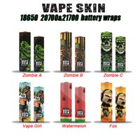 Zombie Vape Girl Watermelon Fox 18650 20700 21700 Battery PV...