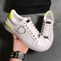 2019 latest fashion trend men' s shoes leather brand cas...