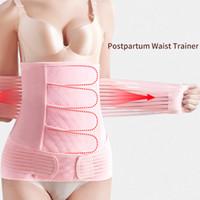 Postpartum supporto di recupero della pancia della vita dell'involucro del bacino del corpo della cinghia postnatale forma di usura incinta di maternità fascia della vita