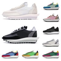 2020 sacai LD waffle men women running shoes Summit White bl...