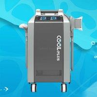 Newangie kühlen plus Doppel chine Behandlung cryolipolysis Vakuum mit 4 Griffen / portable cryolipolysis Maschine mit 4 Griffen