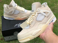 2020 Release Off Аутентичная 4 SP WMNS Мужчины Баскетбол обуви Муслин Белых Черный Zapatos Sail Бред CV9388-100 Аутентичной обувь обуви США 5-13