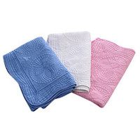 Baby Blanket 100% Cotton Embroidered Baby Quilt Monogrammabl...