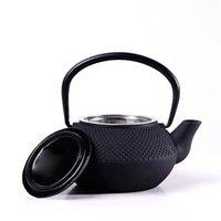 Sıcak satış Yeni Yüksek Kalite Toptan 300ml Mini Cast Iron Kettle Çaydanlık Çay Seti