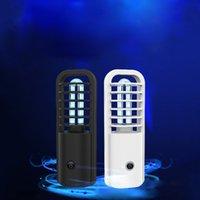 DHL navire Ultraviolet Lampe de désinfection de poche Mini désinfectant UV stérilisation lumières voyage Baguette uv Lampe De Poche ménage toilette de voiture FY6108