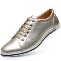 Baoluma Bout Pointu Hommes Robe Ombre En Cuir Verni De Luxe De Mode Marié De Mariage Chaussures Hommes Oxford Chaussures 38-50 Chaussures Formelles