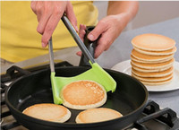 Clever Spatola Tong da cucina Spatola Pinze antiaderenti termoresistente dell'assistente della cucina Telaio Cucina Pinze Strumenti 1 2-in-100Sets OOA4861