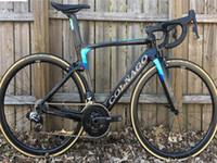 Colnago Blue Diy Carbon Road Complete Vélo complet avec R7010 GROUPSET 38MM Road Wheelset en carbone