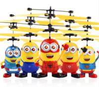RC Helicóptero Drone Kids Brinquedos Flying Ball Aviões LED piscando luz de brinquedo Indução do sensor elétrico para crianças Aviões elétricos