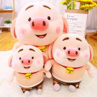 New Geburtstags-Geschenk Nettes Schwein Baumwolle Plüschpuppe füllte Geschenke Tier-Spielzeug-Plüschkissen Puppe-Baby-Kind-reizende Kinder anwesend Chirstmas