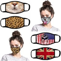 Funny Face Mask 13 Styles Cartoon Printed Reusable Anti Dust...
