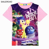 wholesale 3- 9Y Inside Out Kids Childrens Boys Girls t shirts...