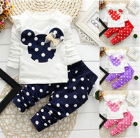 Cute Toddler Baby Girls Clothes Set Long Sleeve T- Shirt and ...