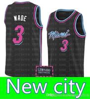 00cc53718ff New city Miami 3 Dwyane   Wade Heat 23 Jimmy   Butler 76ers 25 Derrick   Rose  Timberwolves Jersey 77 Doncic Jerseys