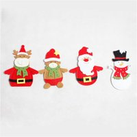 Fork Cover for Home Creative Christmas Ornaments Cute Santa ...