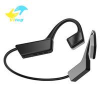 Vitog Bluetooth 5.0 K08 Auriculares inalámbricos para auriculares de conducción ósea al aire libre Auricular Deportivo con micrófono manos libres Auriculares