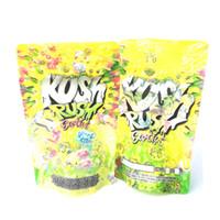 Kush Rush Exotics Bag Svuoti Mylar Bags Riceable Cerniera con cerniera Imballaggio 14G Custodia infantile Pacchetto di alta qualità DHL DHL