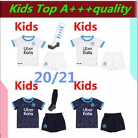 Hommes enfants 2020 2021 Olympique de Marseille BENEDETTO Maillot de football PAYET 20 21 OM maillot extérieur Troisième Marseille Football THAUVIN Maillot De Foo