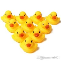 Lovely 10 Pcs Creative Baby Kid Bath Time Duck Toys Yellow S...