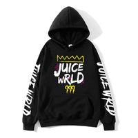 2020 blanco y negro rojo trampa de jugo de jugo de un suéter con capucha wrld wrld juicewrld rap Mundo del arco iris fallo J UICEWrld