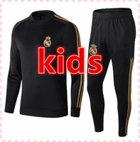 2019 2020 barcelona niños Chándal de fútbol 19/20 Real Madrid Juventus Atletico Madrid MESSI kids chandal de futbol football tracksuit jogging