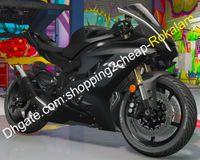 Набор обтекателей ABS YZF600 для запчастей Yamaha YZF R6 2017 2018 2019 2020 YZF-R6 YZF-600 Matte Black Sportbike обтекатель (литье под давлением)