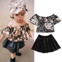 Ins Infant Outfits baby girls suits girls outfits Summer Fas...