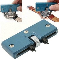 Regolabile rettangolo OROLOGIO appoggiano l'Remover chiave di riparazione Tool Kit