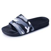 Adam Erkek Açık Ayakkabılar 2020 Yaz Terlik Erkekler EVA Kamuflaj Moda Erkekler Plaj Slaytlar Hafif Kamuflaj Renkli Sandalet