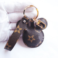 Fashion Mouse Designer Keychains Accessories PU Leather Anim...