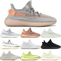 Clay V2 2019 Discount Kanye West True Form Static Zebra Cream White Laufschuhe Beluga Zebra Black White Bred Cream White Mit Box